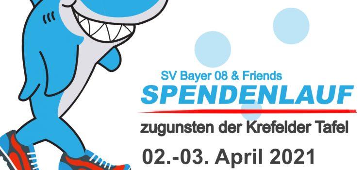 SPONSORENLAUF DES SV BAYER 08 FÜR DIE TAFEL KREFELD!